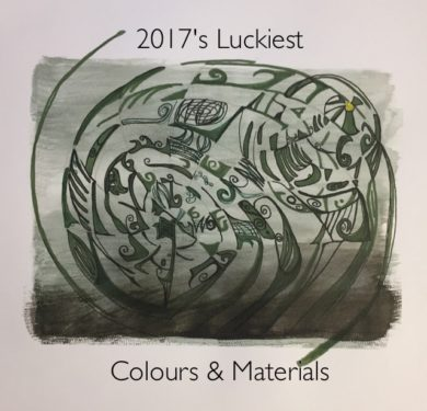2017's Luckiest Colours & Materials