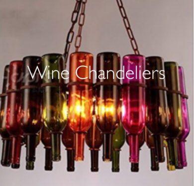 Wine Chandeliers